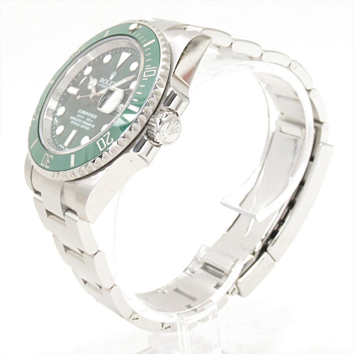 ROLEX 時計 116610LV サブマリーナ 腕時計/メンズ