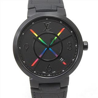 ルイヴィトン (LOUIS VUITTON) タンブール スリム レインボー 腕時計 ウォッチ QA113Z