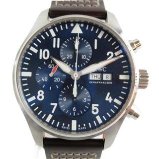 インターナショナル・ウォッチ・カンパニー (IWC) パイロットウォッチクロノ・プティプランス 腕時計 ウォッチ IW377714