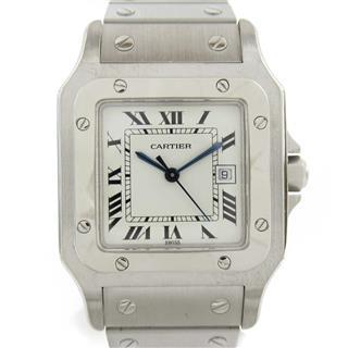 カルティエ (Cartier) サントス ガルベLM ウォッチ 腕時計
