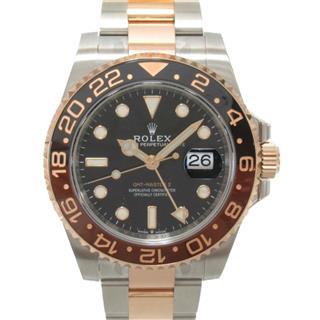ロレックス (ROLEX) GMTマスター2 ウォッチ 腕時計 126711CHNR ランダム