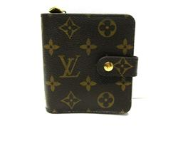 LOUIS VUITTON(ルイヴィトン ルイヴィトン コンパクト・ジップ 二つ折財布  M61667