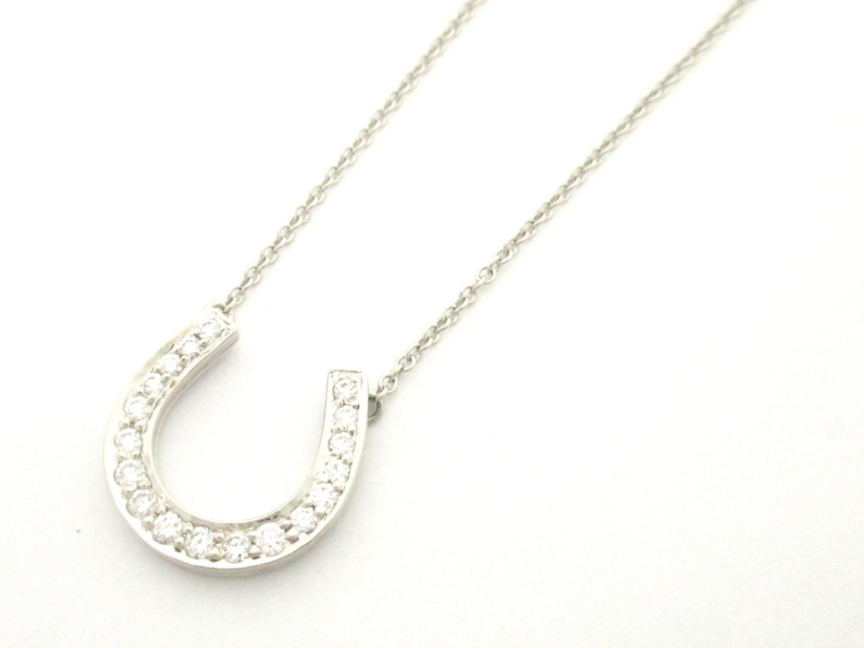 【激安!】ホースシューダイヤモンドネックレス/可愛い/お買得/SALE
