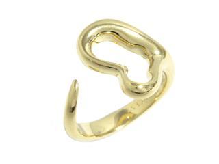 ティファニー (TIFFANY&CO) オープンハートリング 指輪