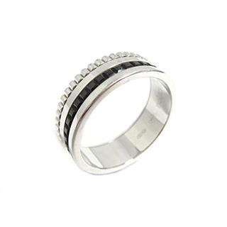 ブシュロン (BOUCHERON) キャトルブラックリングスモール 指輪 JRG01790