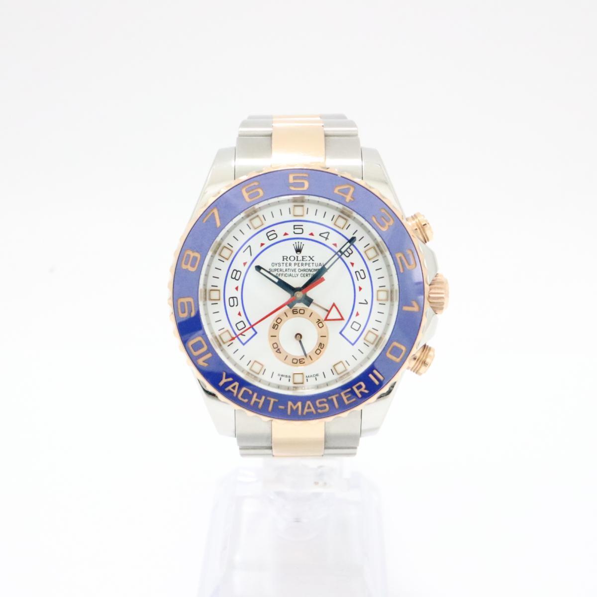 ROLEX 時計 116681 ヨットマスター2 腕時計★レア★メンズ