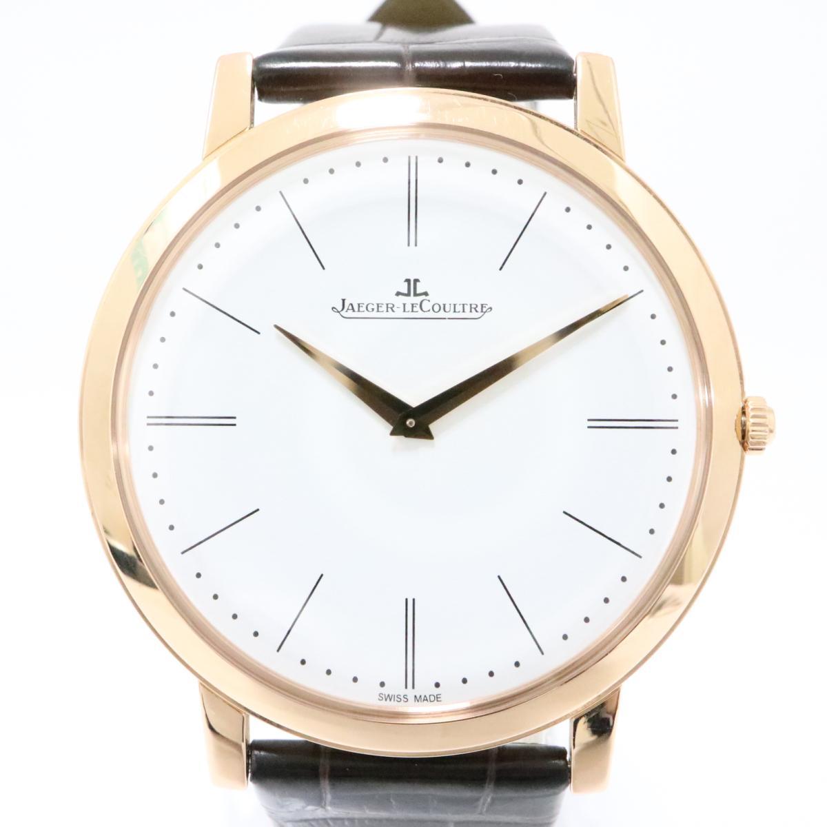 JAEGER-LE COULTRE 時計 Q1292520 マスターウルトラスリム ウォッチ 腕時計/お買い得