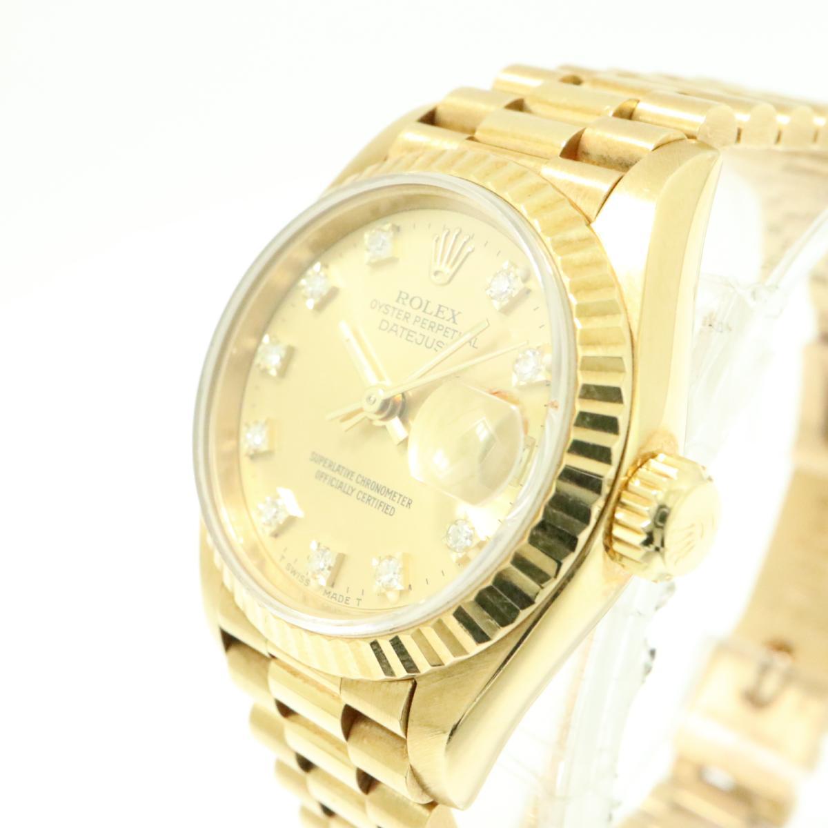 ROLEX 時計 69178G デイトジャスト ウォッチ 腕時計