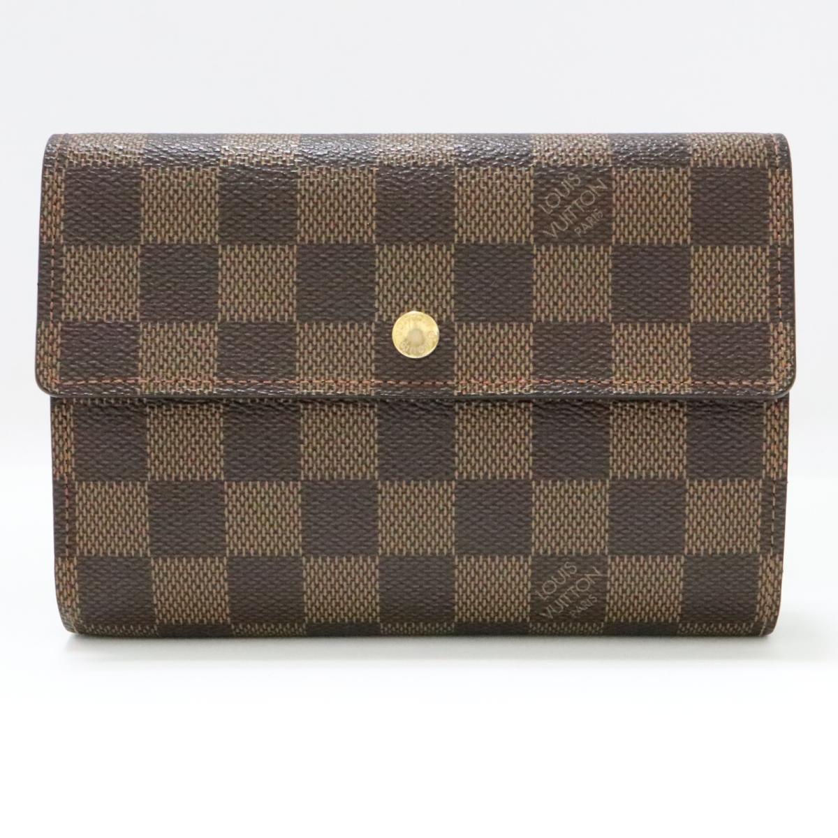 ポルトトレゾール エチュイパピエ 三つ折財布 財布