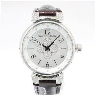 ルイヴィトン (LOUIS VUITTON) タンブール フォーエバー ベルト他製品 腕時計 Q121P1