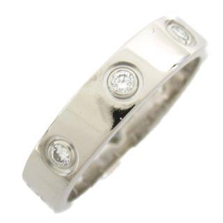 カルティエ (Cartier) ラブリング フルダイヤモンド リング 指輪