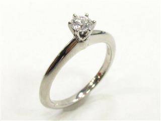 ティファニー (TIFFANY&CO) ソリティアリング 指輪 ダイヤモンド