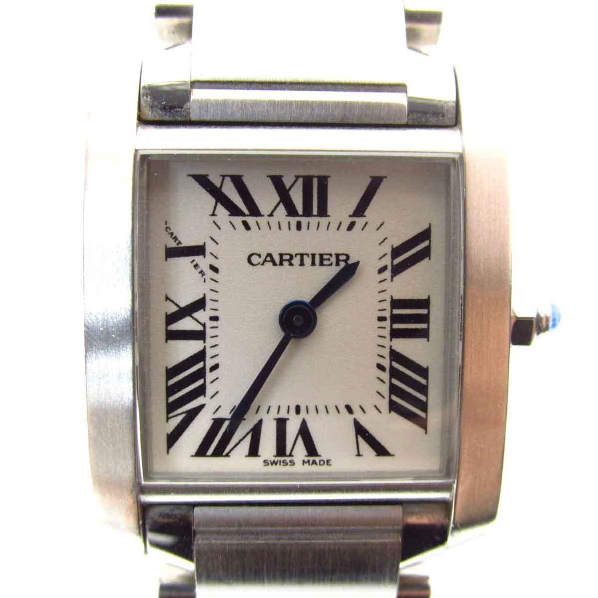 タンクフランセーズSM 腕時計/レディース/人気/SALE