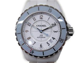 シャネル (CHANEL) J12 38 ソフトブルー 腕時計 ウォッチ H4341