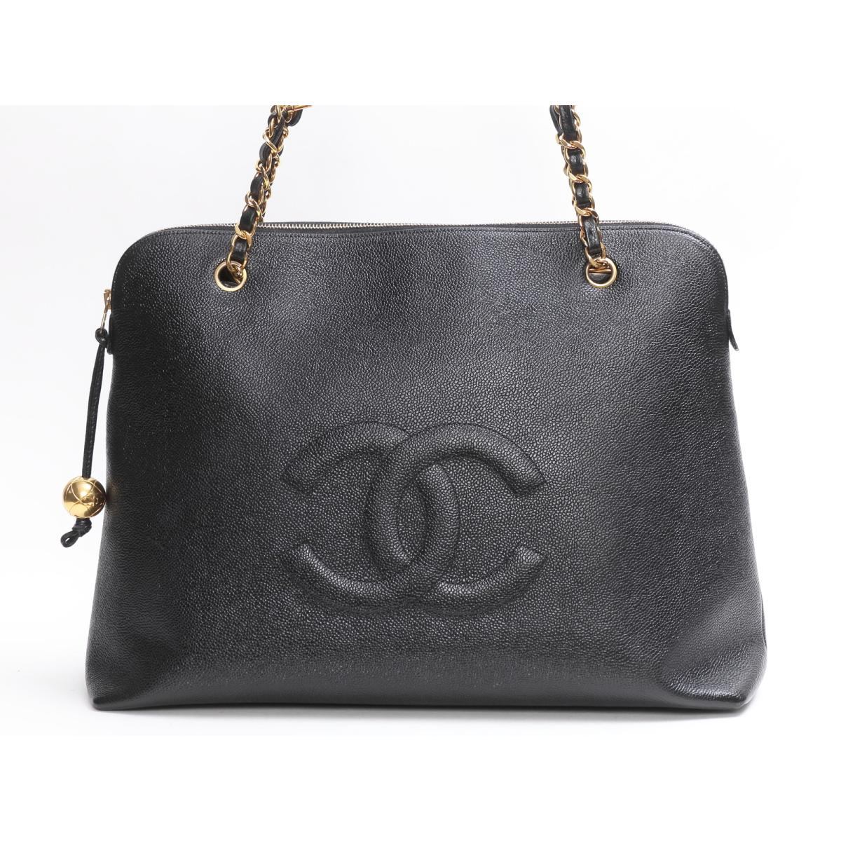 CHANEL バッグ  チェーントート