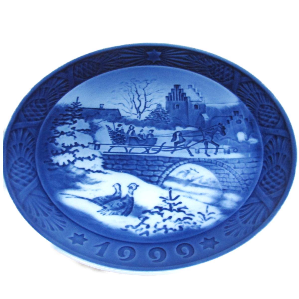 ROYAL COPENHAGEN(ロイヤル・コペンハーゲン)/イヤープレート 1999 絵皿