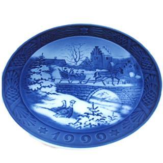 ロイヤル・コペンハーゲン (ROYAL COPENHAGEN) イヤープレート 1999 絵皿