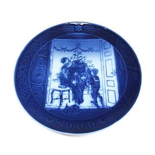 ロイヤル・コペンハーゲン (ROYAL COPENHAGEN) イヤープレート 2000  絵皿