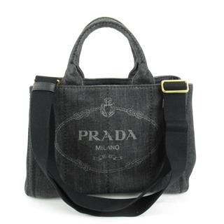 プラダ (PRADA) カナパ PM スト付 トートバッグ