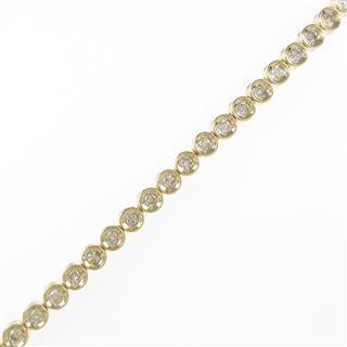 ジュエリー (JEWELRY) K18YG ダイヤモンドブレスレット