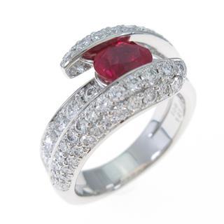 ジュエリー (JEWELRY) PT ルビーリング 指輪