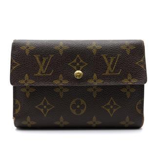 ルイヴィトン (LOUIS VUITTON) ポルト トレゾール・エテュイ パピエ 三つ折財布 M61202