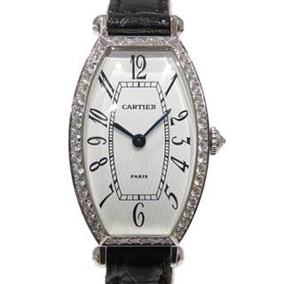 カルティエ (Cartier) トノーSMダイヤベゼル ウォッチ 腕時計 WA503151