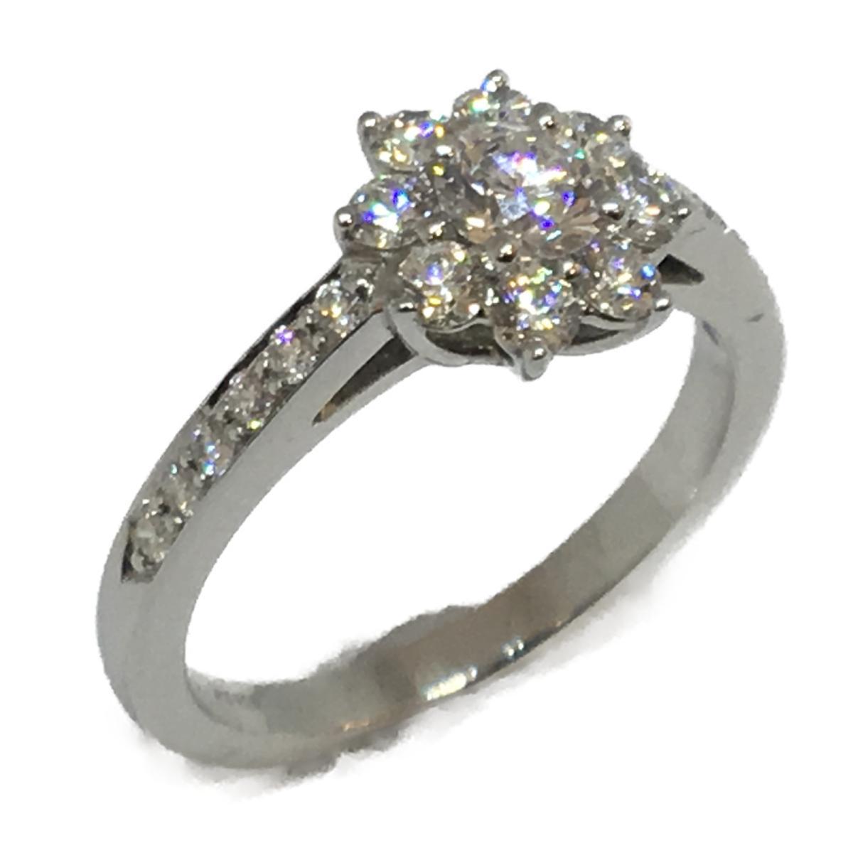 ジュエリー フローラ ダイヤモンドリング 指輪/SALE 8号