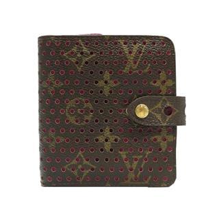 ルイヴィトン (LOUIS VUITTON) コンパクト・ジップ 二つ折りラウンドファスナー財布 M95188